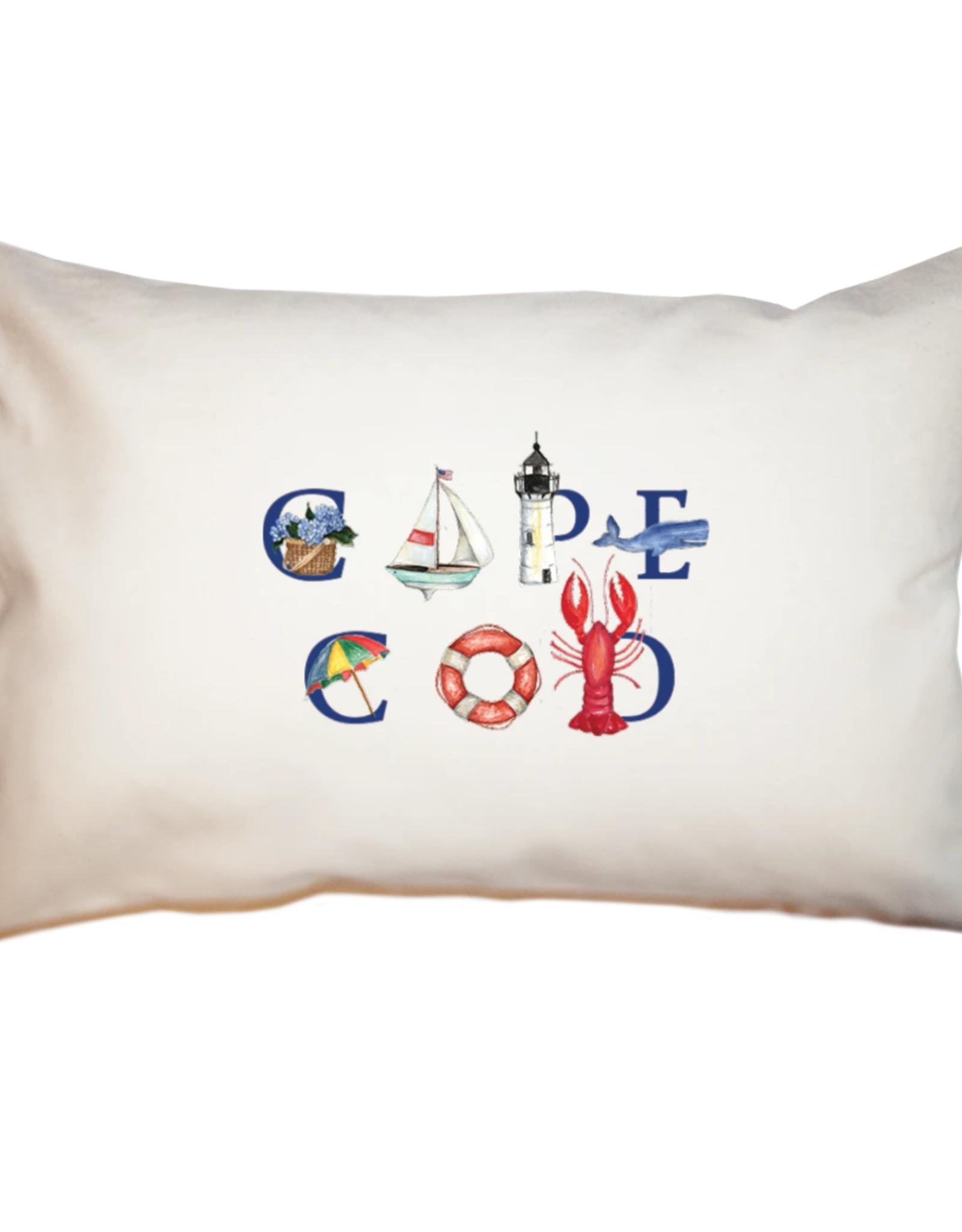 """Tina Labadini Designs Tina Labadini Designs - 11"""" x 17"""" Cape Cod Pillow"""