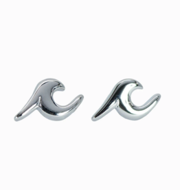 Puravida Puravida - Wave Stud Earrings