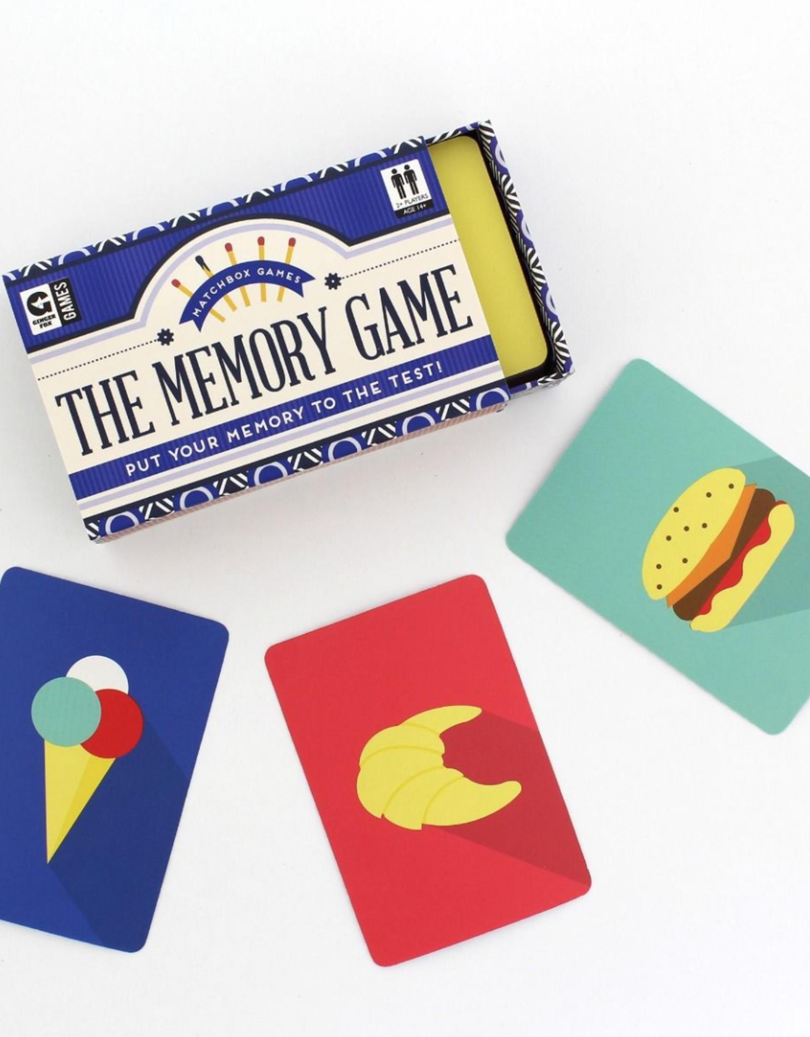 Ginger Fox Ginger Fox - Matchbox Games - Memory Game