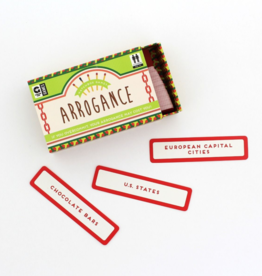 Ginger Fox Ginger Fox - Matchbox Games - Arrogance