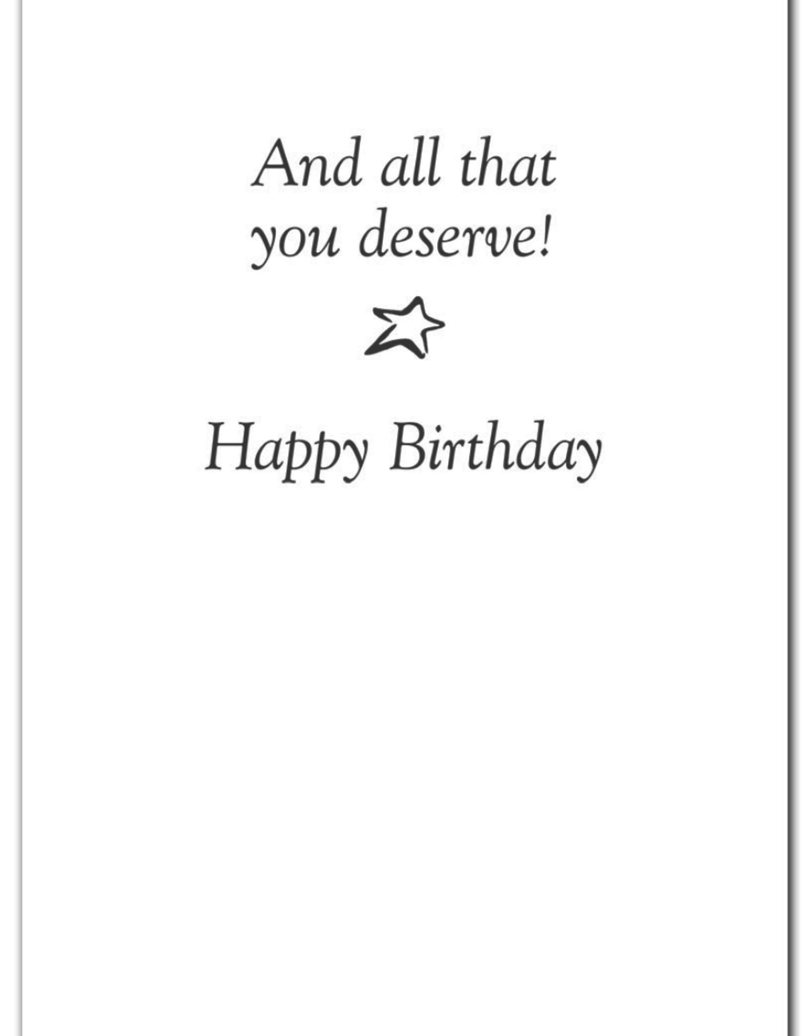 Cardthartic Cardthartic - Birthday Candles in Dark Card
