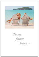 Cardthartic - To My Forever Friend Birthday Card
