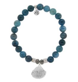 T. Jazelle T.Jazelle - Arctic Apatite - Seashell Bracelet