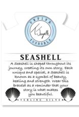 T.Jazelle - Arctic Apatite - Seashell Bracelet