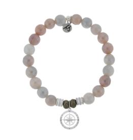 T. Jazelle T.Jazelle - Sunstone - Compass Rose Bracelet