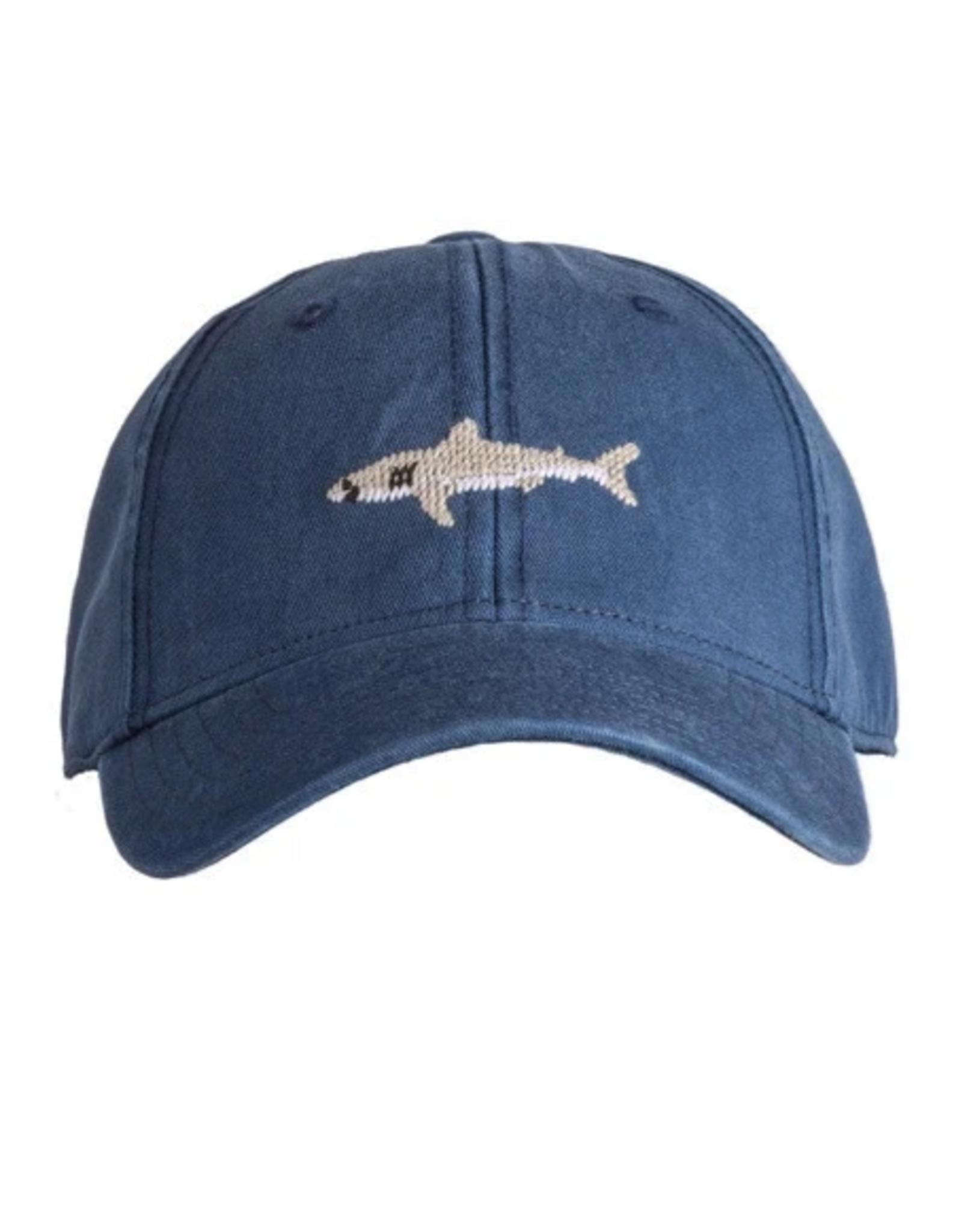 Harding Lane Harding Lane - Great White Shark on Navy Kids Hat
