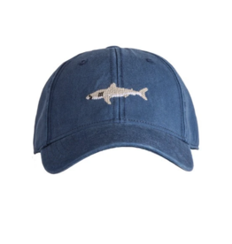 Harding Lane Harding Lane - Great White Shark on Navy Kids Hat