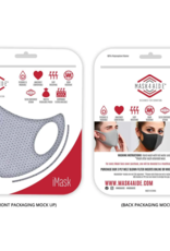 Mask 4 Aid Mask 4 Aid - Youth - Grey