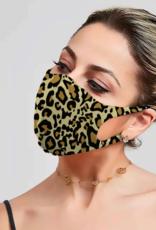 Mask 4 Aid Mask 4 Aid - Unisex Mask - Leopard