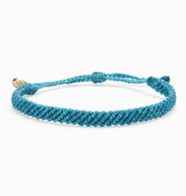 Pura Vida Pura Vida - Half Flat Woven - Pacific Blue