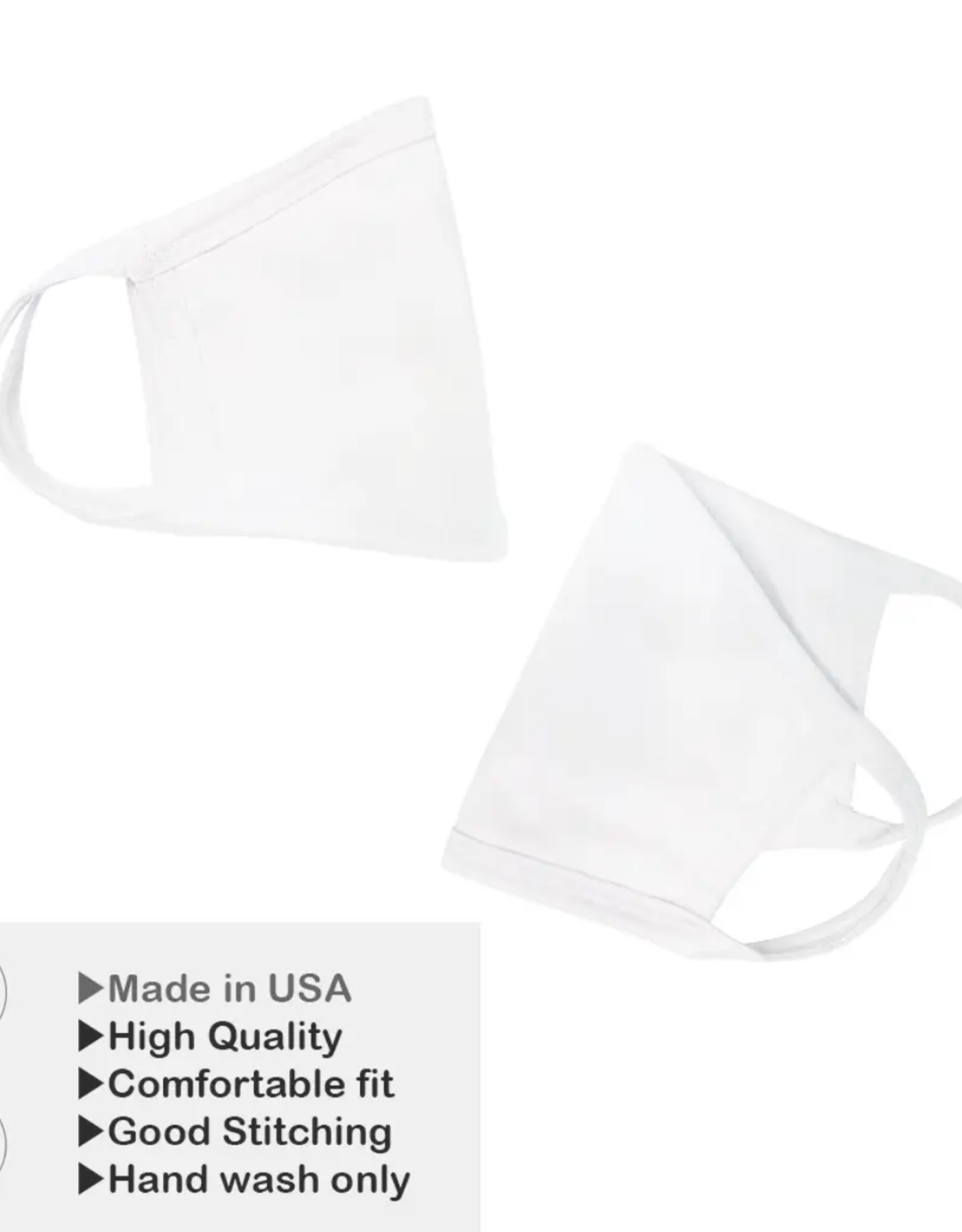 Mask - Solid White