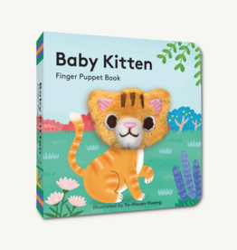 Hachette Book Group Baby Kitten Finger Puppet Book
