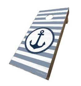 Rustic Marlin Rustic Marlin - Anchor Cornhole Set