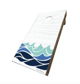Rustic Marlin Rustic Marlin - Waves Cornhole Set