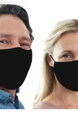 Snoozies - Adult Mask - Solid Black