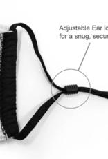 Top Trenz Top Trenz - Medium Size - Solid Black Mask