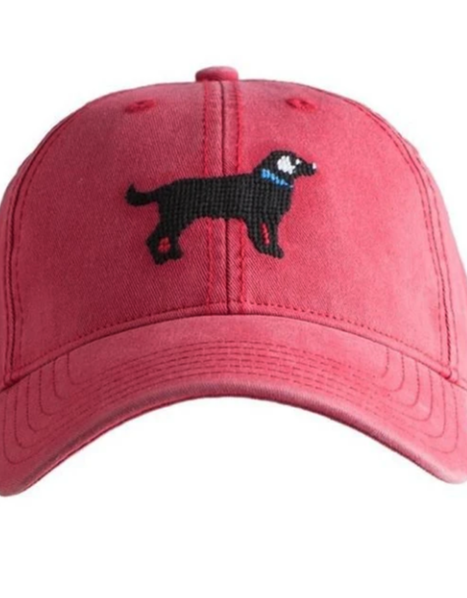 Harding Lane Harding Lane - Black Lab on Weathered Red Adult hat