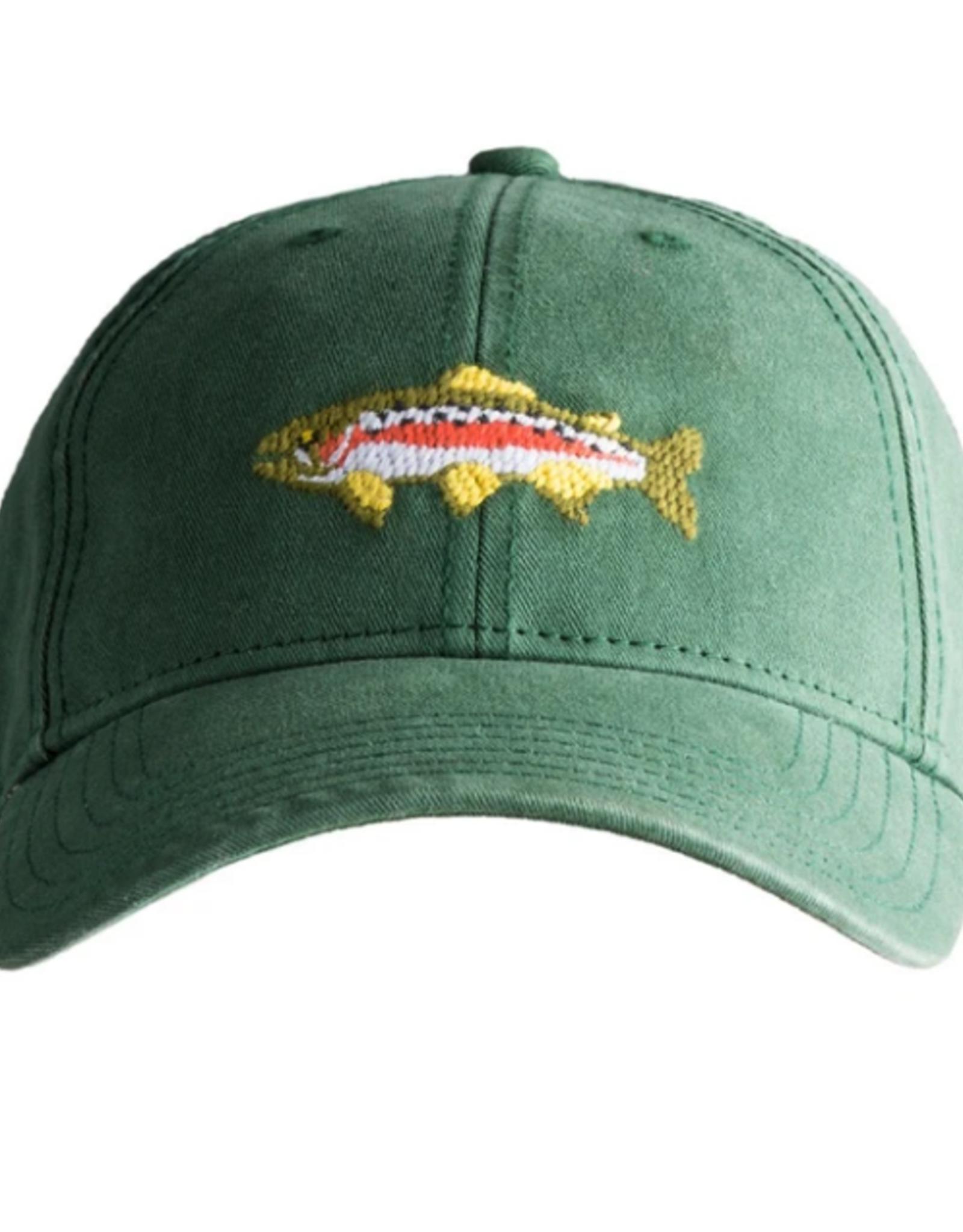 Harding Lane Harding Lane - Trout on Moss Green Adult Hat