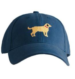 Harding Lane Harding Lane - Yellow Lab on Navy Adult Hat