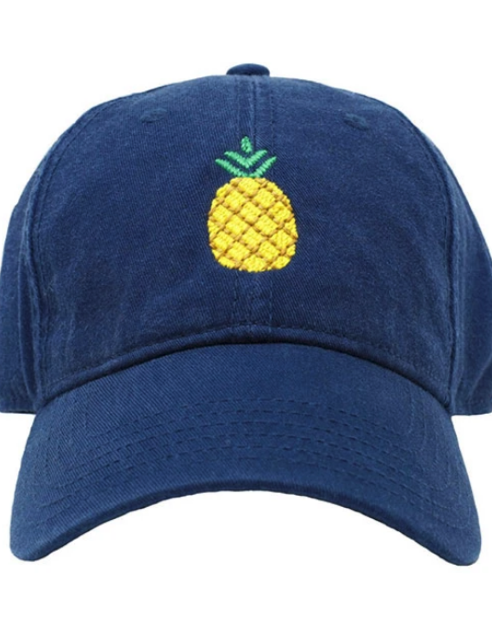 Harding Lane Harding Lane - Pineapple on Navy Adult Hat