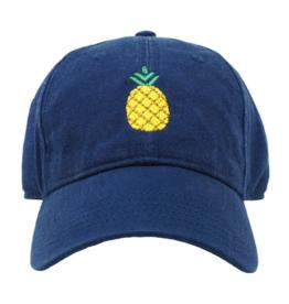 Harding Lane Harding Lane - Pineapple on Navy Adult Hat