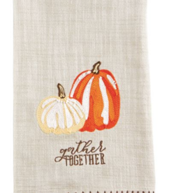 Mud Pie Mud Pie - Embroidered Pumpkin Towel - Gather
