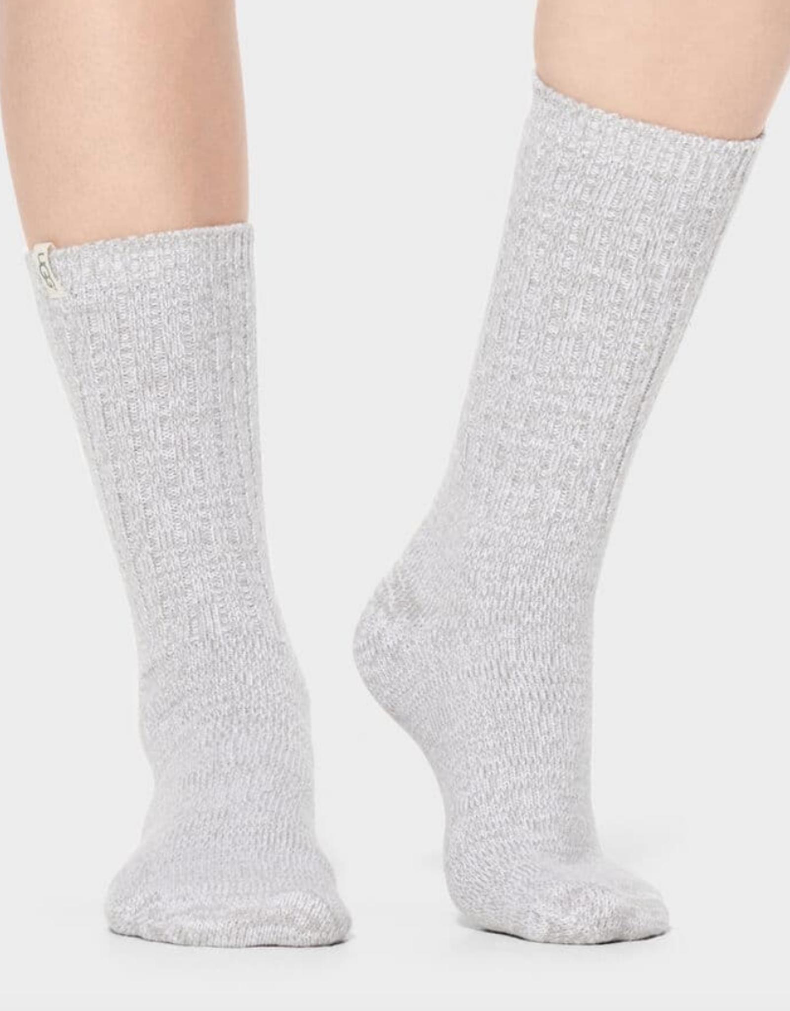 UGG - Rib Knit Slouchy Crew Sock Seal