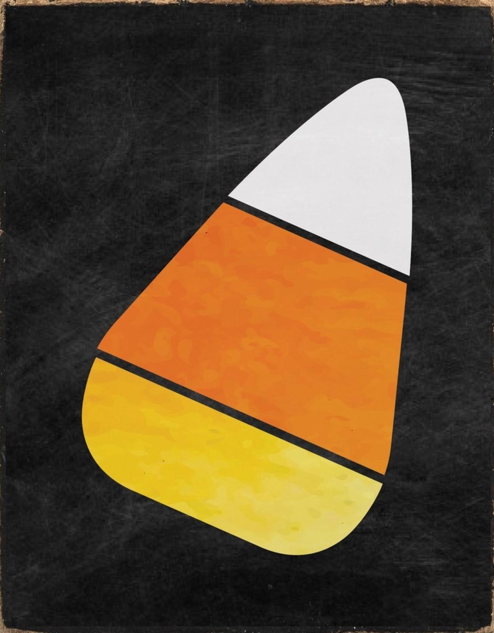 Rustic Marlin Rustic Marlin - Symbol Blocks Candy Corn Black