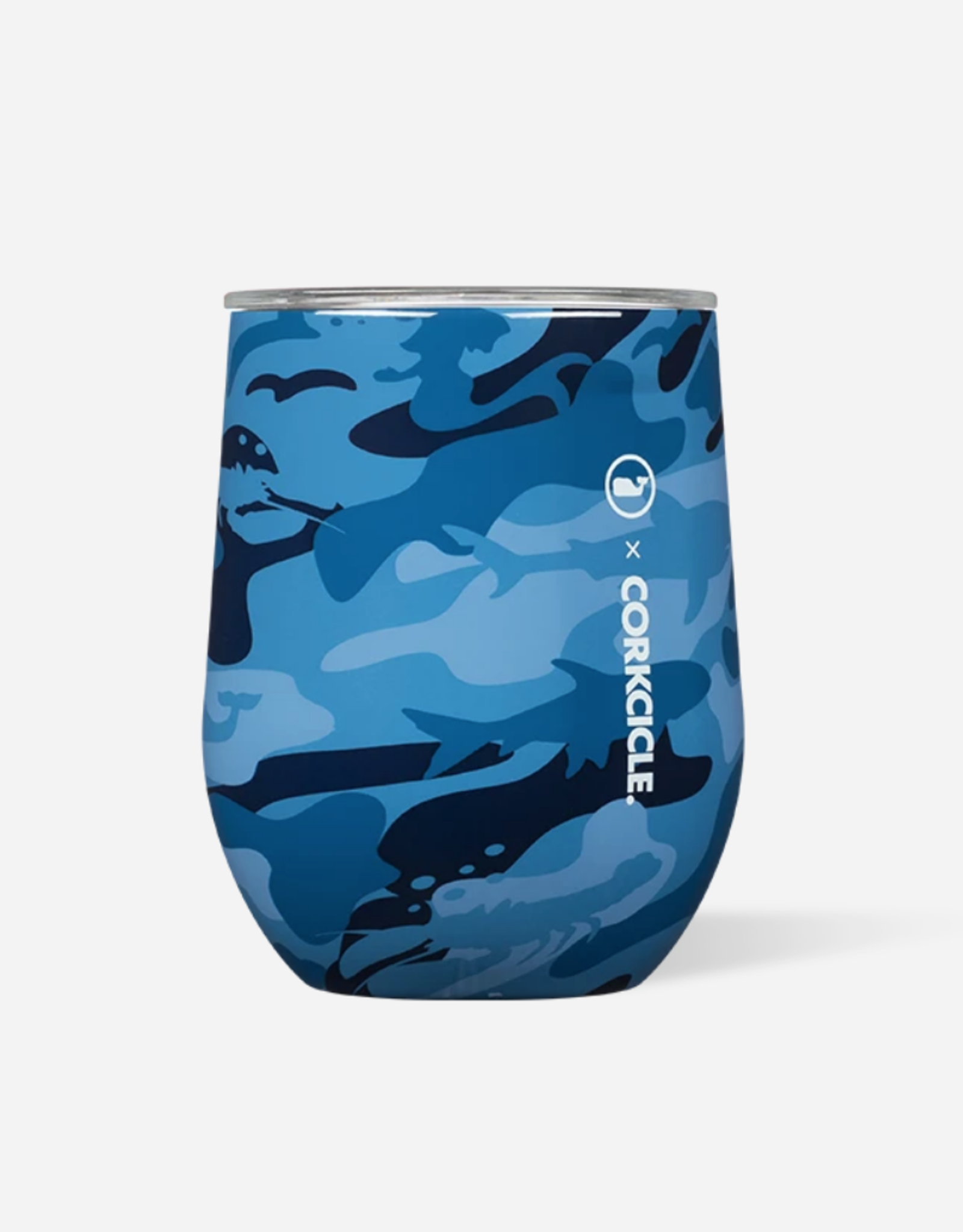 Corkcicle Corkcicle - 12oz Stemless - Vineyard Vines Blue Camo