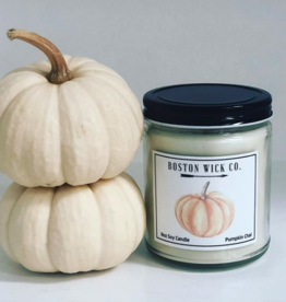 Boston Wick Boston Wick Company - Watercolor Pumpkin Candle