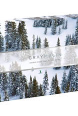 Gray Marlin - Snow Double Sided Puzzle