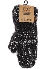 C.C. Beanie C.C. - Popcorn Knit Mitten - Black