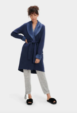 UGG - Woman's Blanche Navy Heather Robe
