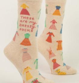 Blue Q Blue Q - Crew Socks These Are My Dressy Socks