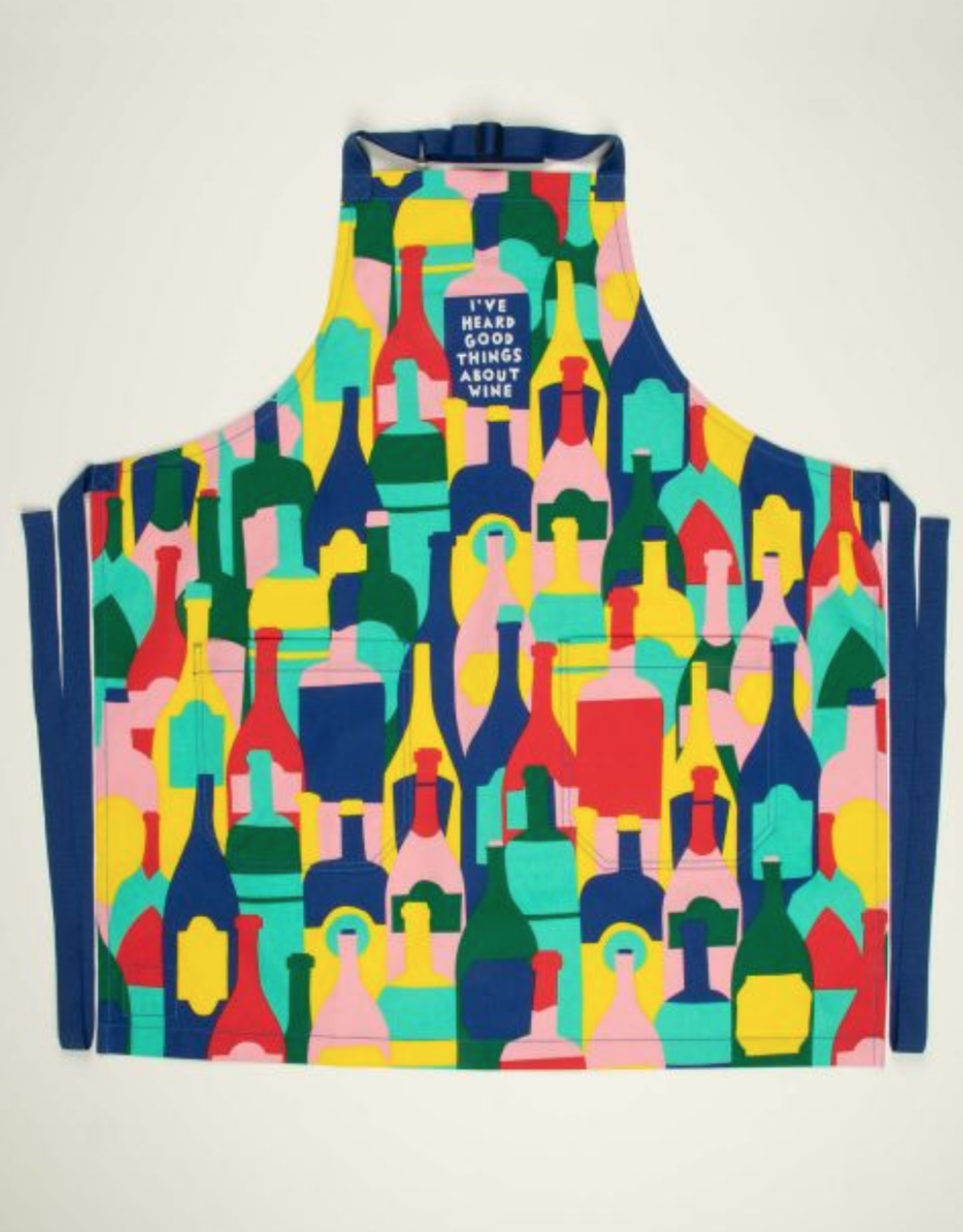 Blue Q Blue Q - Apron - Good Things About Wine