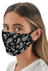 Snoozies - Adult Mask - Black Bandana
