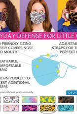 DM Merchandising Cotton Face Masks - Kids - Emoji