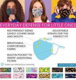 DM Merchandising Cotton Face Masks - Kids - Emoji