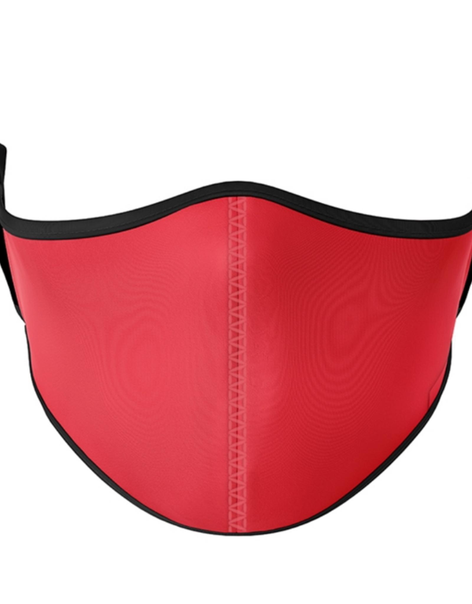 Top Trenz Top Trenz - Medium Size - Solid Red Mask