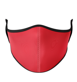 Top Trenz Top Trenz - Large Mask - Solid Red