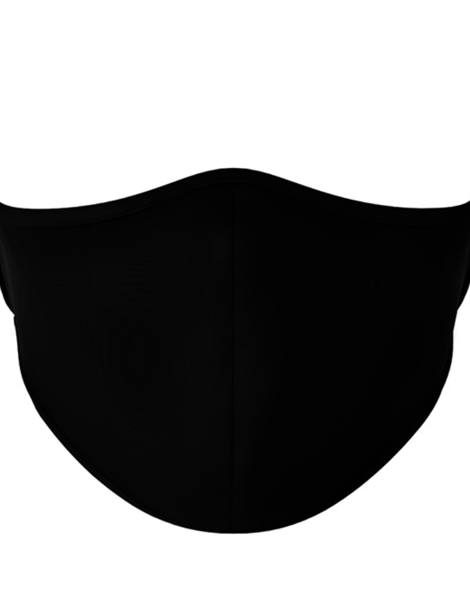 Top Trenz Top Trenz - Large Mask - Solid Black