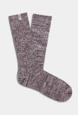 UGG - Rib Knit Slouchy Crew Sock Port