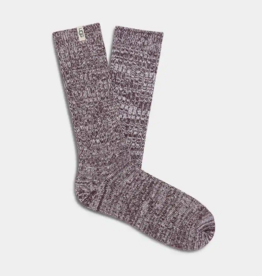 UGG UGG - Rib Knit Slouchy Crew Sock Port