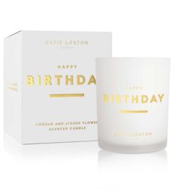 Katie Loxton Katie Loxton - Sentiment Candle - Happy Birthday