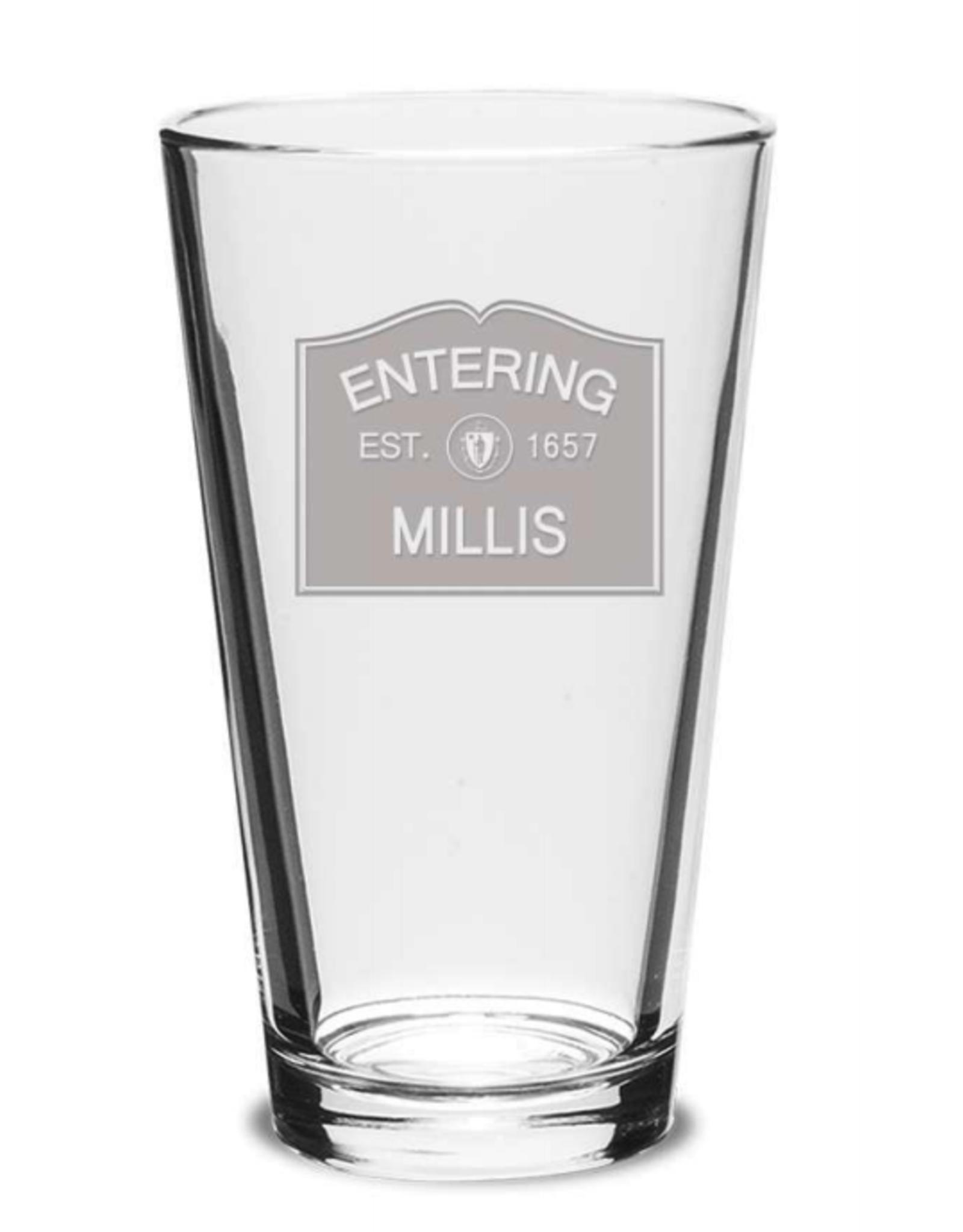 Millis Glassware - Entering Millis EST. 1657