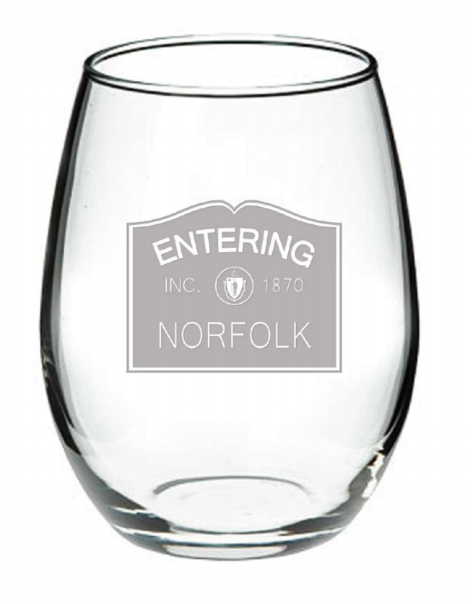 Norfolk Glassware - Entering Norfolk Stemless - INC 1870