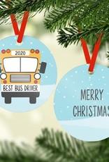 Rubi and Lib Rubi and Lib - Bus Driver Ornament