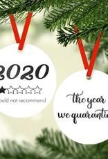 Rubi and Lib Rubi and Lib - 2020 One Star Ornament