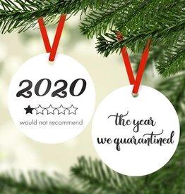 Rubi and Lib - 2020 One Star Ornament