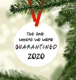 Rubi and Lib - Quarantined Ornament